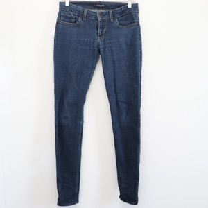 Guess Womens Size 27 Skinny Blue Jeans
